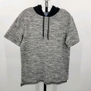 Highland Outfitters Hooded Short Sleeve Skater Tee